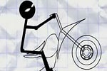 Stickman Boy Bike
