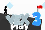 Vex 3 Stickman Flash Game - Spiked In Action