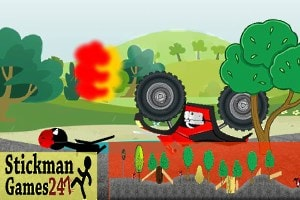 ATV Stickman Ride Screenshot 2