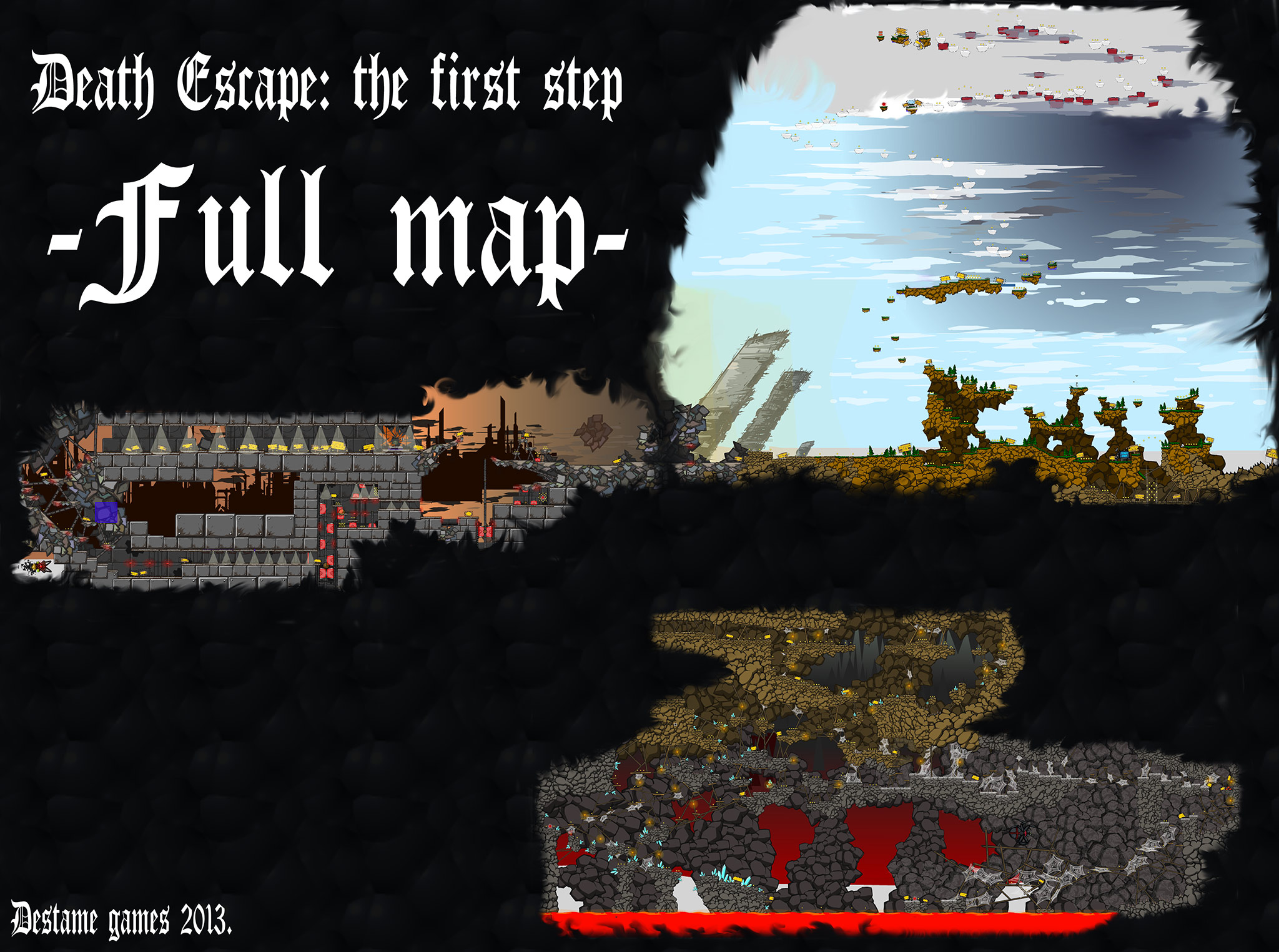 Death Escape: The Map