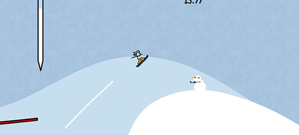 Free Snowboarding gameplay