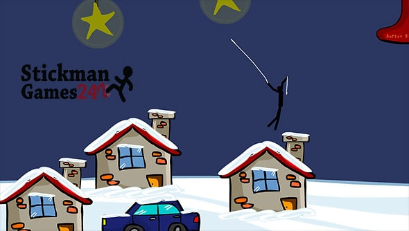 image of Spider Stickman 5: It's Christmas time