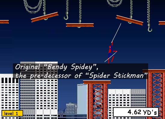 image of original bendy spidey game