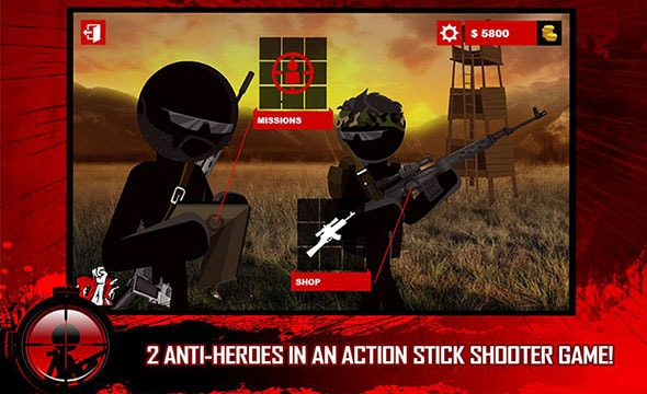 Stick Squad: anti-heros