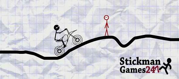 image of Stickman Boy Bike