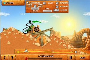 Stickman Downhill gameplay