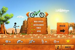 Stickman downhill shop