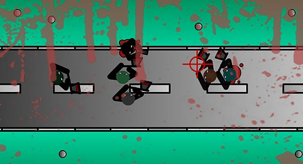 image of Stickman Hunter game: gameplay