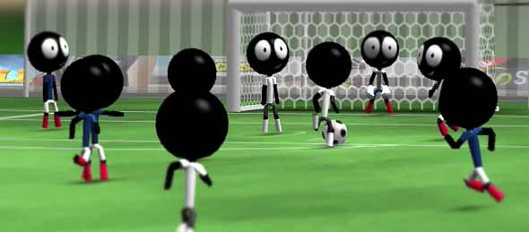 stickman soccer game free