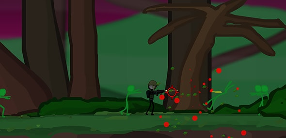image of stickocalypse: forest survival