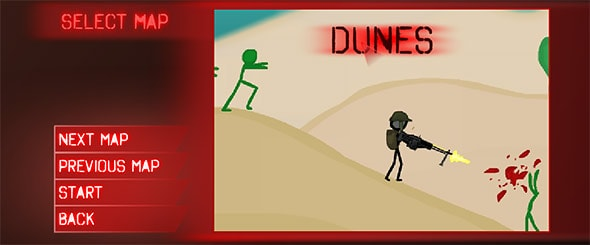 image of stickocalypse: Dunes map